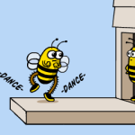 You should bee dancing
