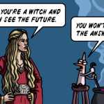 Cersei and the witch