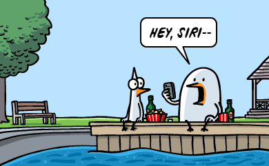 Hey, Siri.