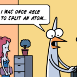 Bend the atom