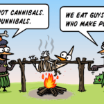 Puns and cannibals