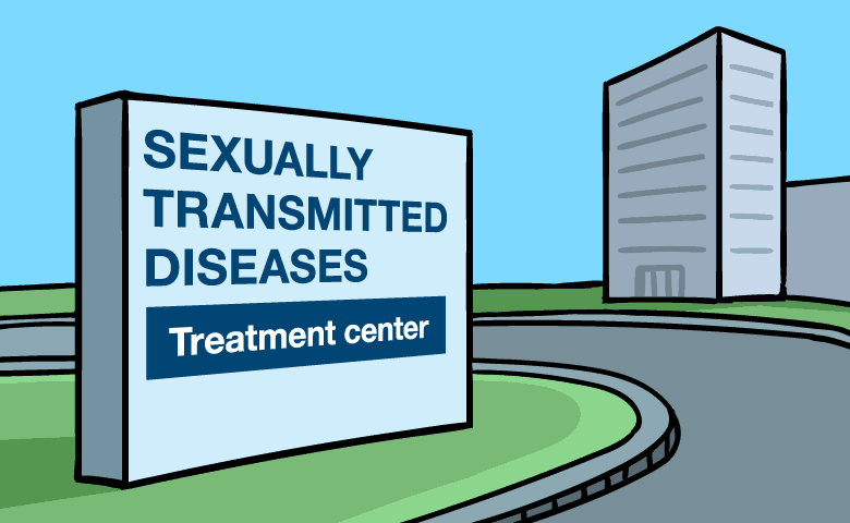 Sexually transmitted diseases treatment center