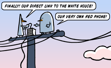 Finally! Our own link to the white House! - Our very own Red Phone!