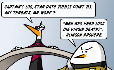 Captain's log, star date 298223 point 213. Any threats, mr Worf ?